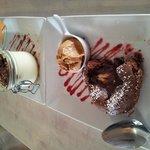 Fondant au chocolat - coeur chocolat blanc