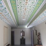 Beautifully painted ceilings, pure craftsmanship