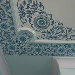 Painted ceiling in my room