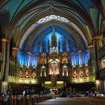 Interior of Notre Dame de Bonsecours