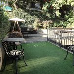 garden seating, great for drinks