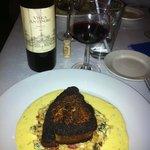 Great swordfish and Wine