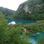 Plitvice Lakes, a short drive away