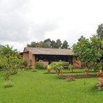 View of Restaurant and Garden