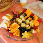 Fruit Plate made fresh by Mary