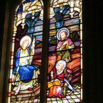 stained glass windows  church Bairnsdale