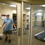 fitness centre could be improved