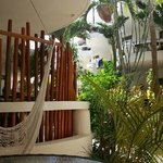 our balcony. .. garden view suite 113