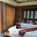 Lamphu deluxe room on the 6th (top) floor in the second building