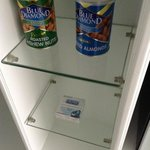 Interesting minibar selection