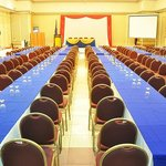 Our Grand Ballroom can accommodate up to 1500 people depending on the setup.