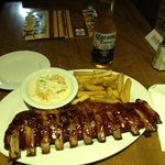 Almost $50 for a side of mediocre ribs & a beer - WTF!?!