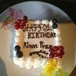 Special Birthday Cake From Hotel
