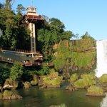 Ascensor Cataratas lado Brasil.