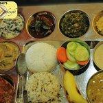 The Perfect Odia Veg Cuisine Thali
