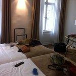 Hotel room 317.
