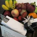 Generous fruit basket