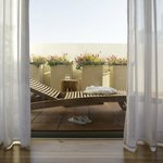 the rothschild Suite Balcony