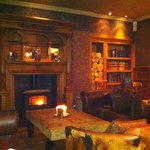 Gorgeous interior, cosy fires and relaxed atmosphere