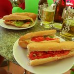 Baguettes and beer!!
