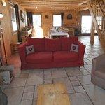 Le Prele Chalet Central Morzine Living area