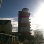 Leuchtturm mit Restaurant und Zimmer