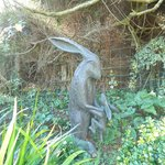 broomhill sculpture gardens- guess how much I love you bunny!