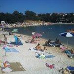 Beach under Villa Margerita