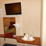 tv and hospitality tray