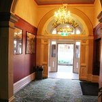 The welcoming entryway.
