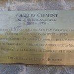 """Plaque """"Clement"""""""