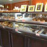 Fresh baked breads and pastries