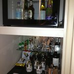 Very pricey minibar!