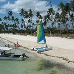View of the hobie cat available for free - photo taken from the jetty