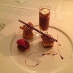 Felchlin-Schokoladen-Dessert