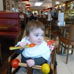 Fortes and baby highchair