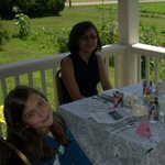 Outdoor Dining at Murphy's Orchard Tea Room