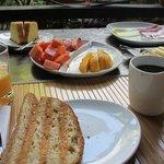 The breakfast:-)))