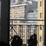 balcón vistas calle principal