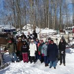 Club Sleighride at Dual Acres in Shallow Lake