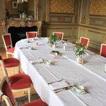 Salle à manger privatisée du premier étage