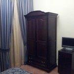El armario de la habitación