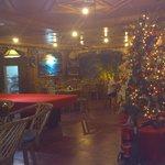 Restaurant met Kerst