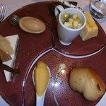 Assiette desserts du pâtissier Le Médicis Blois