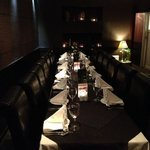 Cosy intimate and elegant dinning experience