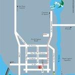 Mapa localização Hotel Cassino