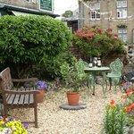 Enjoy relaxing in the front garden