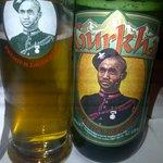 Horsham's best - Gurkha beer