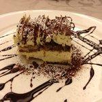Tiramisu for dessert...