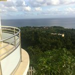 vue de la terrasse (F3 Aruba)